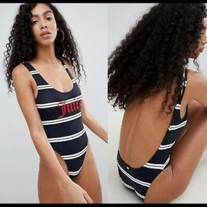 NWT Juicy Couture one-piece swimsuit size L